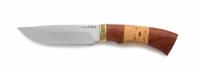 Нож Ястреб с кожаным чехлом (сталь 65х13)