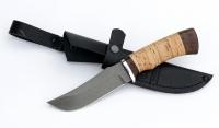 Нож Коршун, сталь Х12МФ, рукоять береста-дюраль