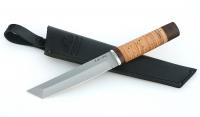 Нож Тантуха-3, немецкая сталь AISI 440C, рукоять береста, дюраль
