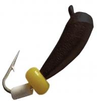 """Мормышка вольфрамовая """"Банан"""" 0,1г"""