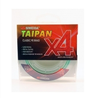 """Шнур плетеный SWD """"Taipan Classic PE BRAID X4"""" размотка 135 м"""