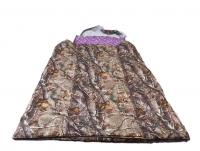 Двухспальный мешок из верблюжьей шерсти
