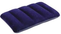 Надувная подушка флокированная Downy Pillow Intex (43х28х9)см