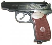 Пистолет пневматический МР-654К-28 (обн. ручка)