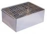 Коптильня двухъярусная с поддоном (380х280х170) Нерж.сталь 0,5 мм